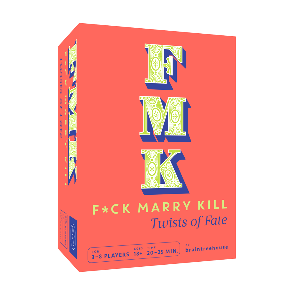 FMK: Twists of Fate (Classic Party Game with Hilarious Twist, Kickstarter Game of FCK, Marry, Kill)