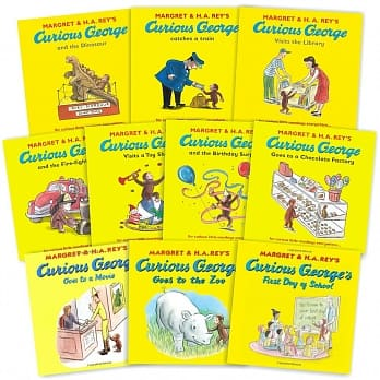 Curious George 10 Book Set