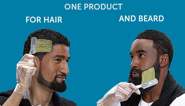 One Product for Both Hair and Beard!