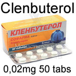 Clenbuterol [pharmacy] 0,02mg 50 tabs