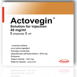 Actovegin [injections] [pharmacy] 5 ampoules 5ml 200mg