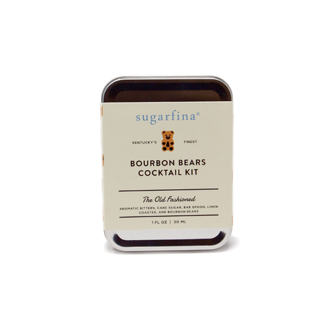 Carry On Cocktail Kit - Bourbon Bear Old Fashioned