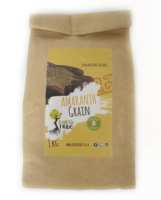 Amaranth Grain (100% Organic & African) | Earth Tribe