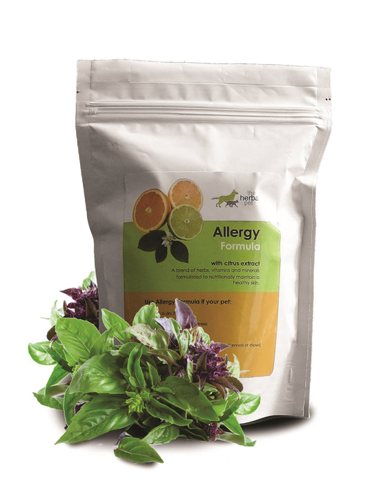Allergy (or Itch) Formula Pack (500g) : Natural supplement for itchy pets