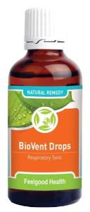 BioVent Drops - Respiratory tonic & natural remedy for asthma relief