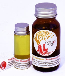 Natural Yogi - Chest and Breast Massage Oil wholesale distributor in South Africa