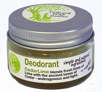 Natural Yogi Ceder Lime Healthy Deodorant Wholesale Distributor for stockists in South Africa