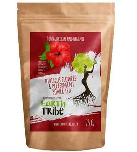 Hibiscus & Peppermint Tea - Earth Tribe Wholesale Distributor in South Africa