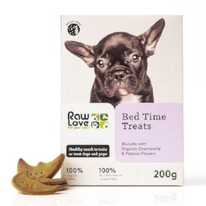 Raw Love Organic Bed Time Treats for Pets. Natural Wholesalers, wholesale distributors South Africa