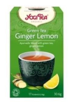 Yogi Organic Green Tea with Ginger and Lemon. Wholesale distributor South Africa