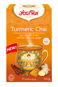 Yogi Tea Turmeric Chai. Wholesale distributors South Africa