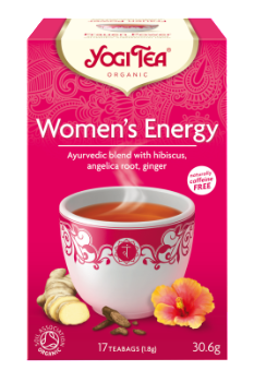 Yogi Organic Women's Energy Tea. Wholesale distributor South Africa