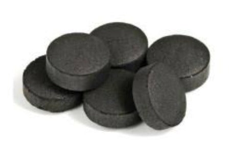 Charcoal Pucks for burning raw incense
