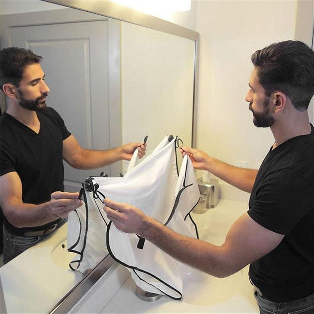 Hair Shave Apron for Bathroom