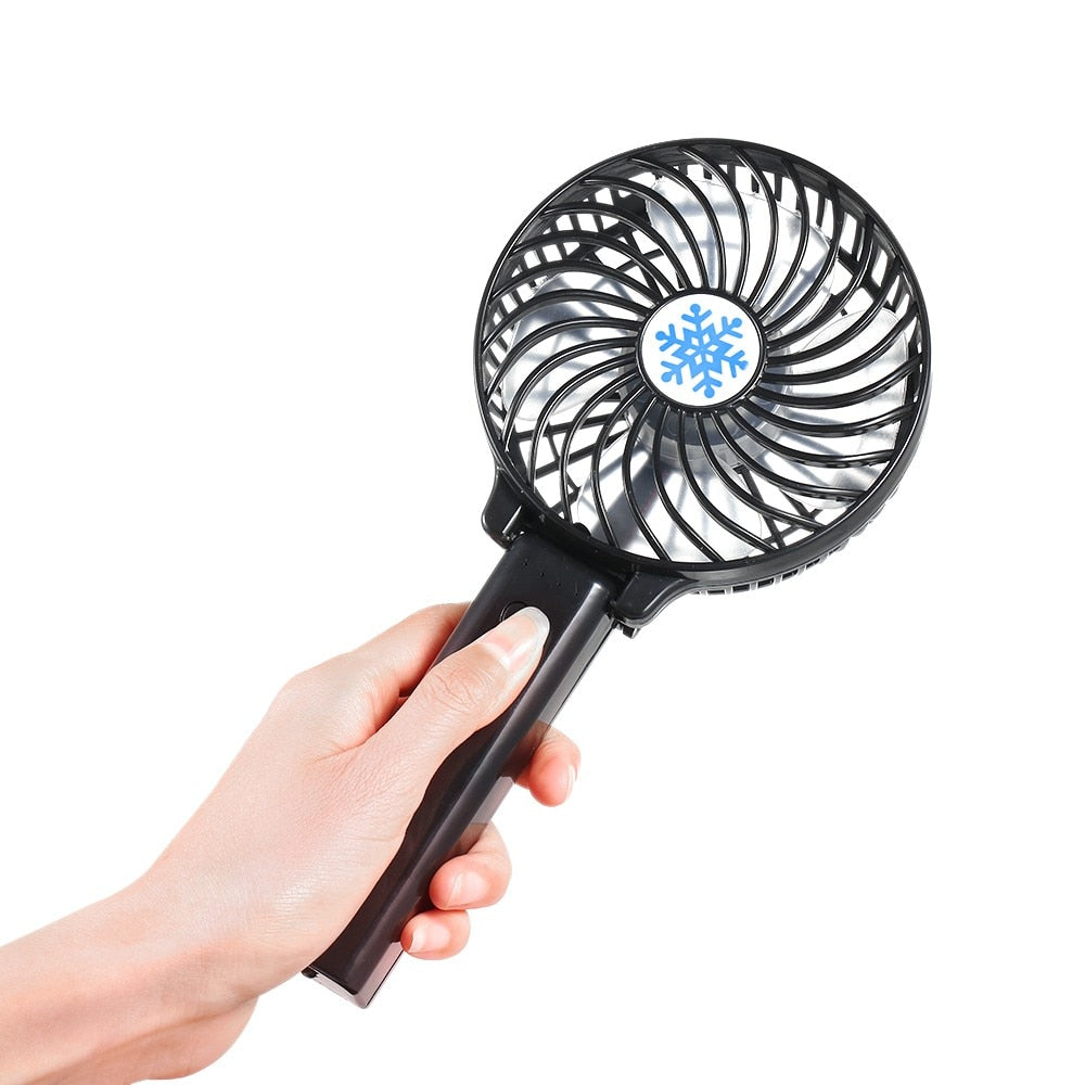 Rechargeable Hand Mini Fan (Ultra Fast Speed)