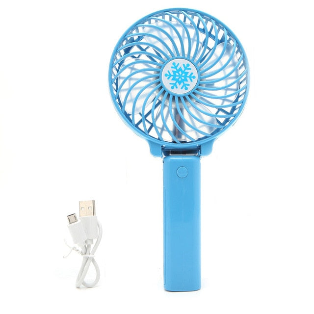 Portable Rechargeable Hand Fan