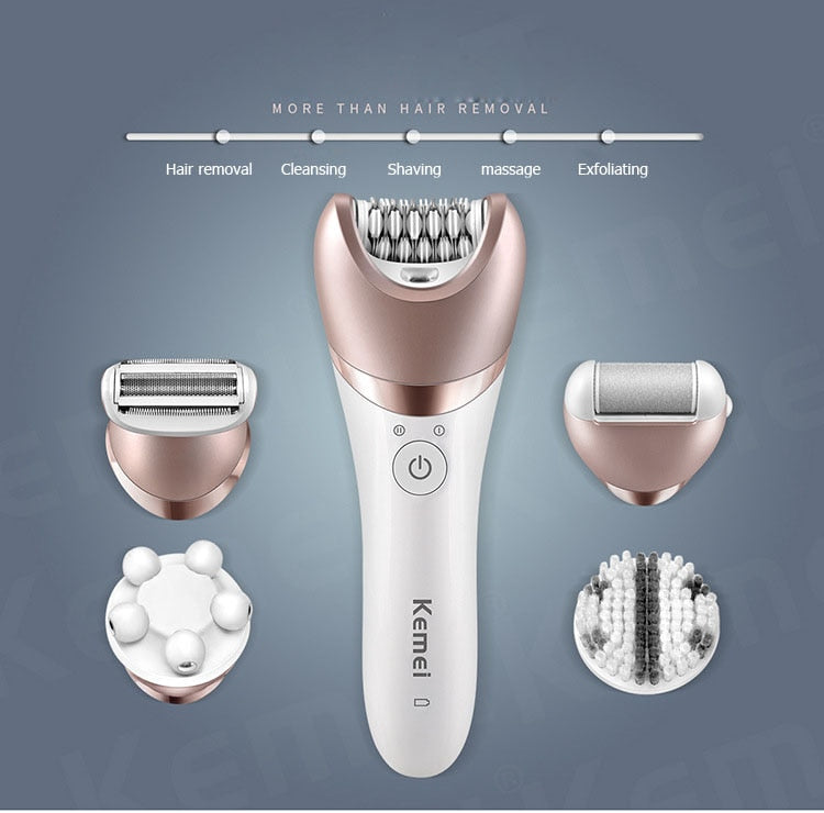 5 in 1 Electric Epilator Hair Removal tool