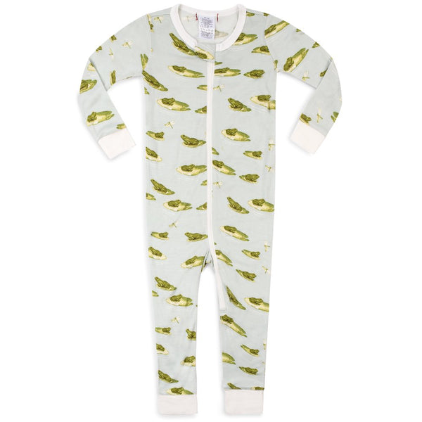 Zipper Footless Pajama