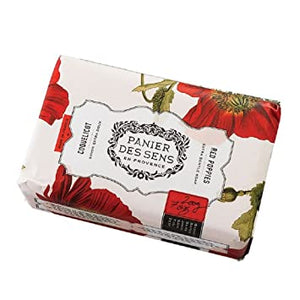 Red Poppies Shea Butter Soap 7 oz.