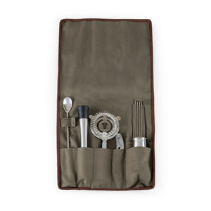 10-Piece Bar Tool Roll Up Kit