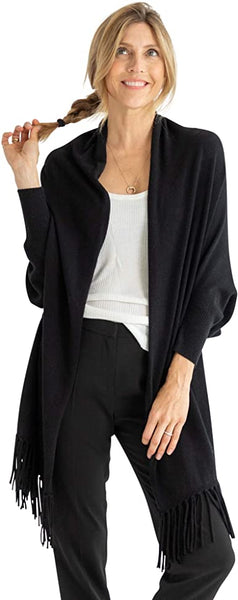 Anywear Wrap with Sleeves