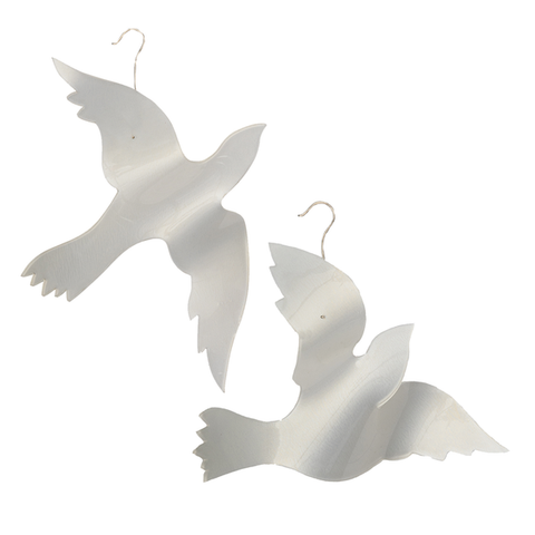 Acrylic Dove Christmas Ornament