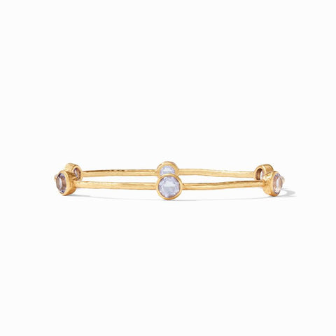 Milano Bangle Gold - Lavender - Small