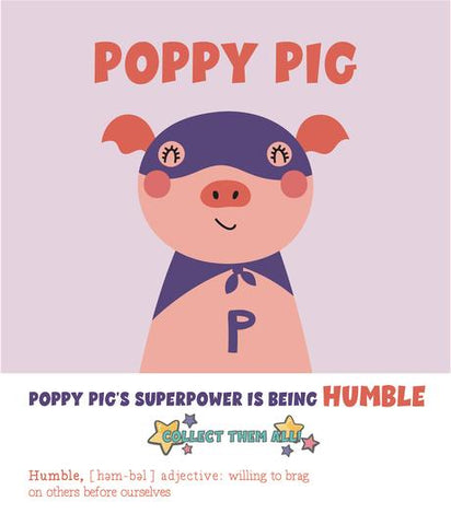 Poppy Pig - Paint by Number Kit