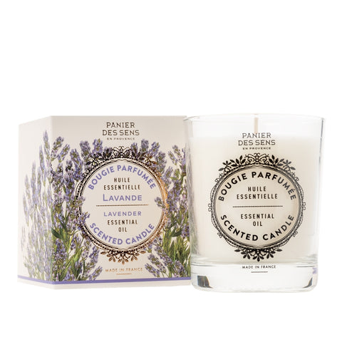 Relaxing Lavender Scented Candle