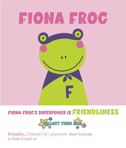 Fiona Frog - Paint by Numbers Kit