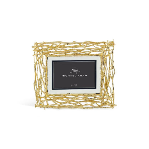 Twig Frame 4 x 6 or 5 x 7 - Gold