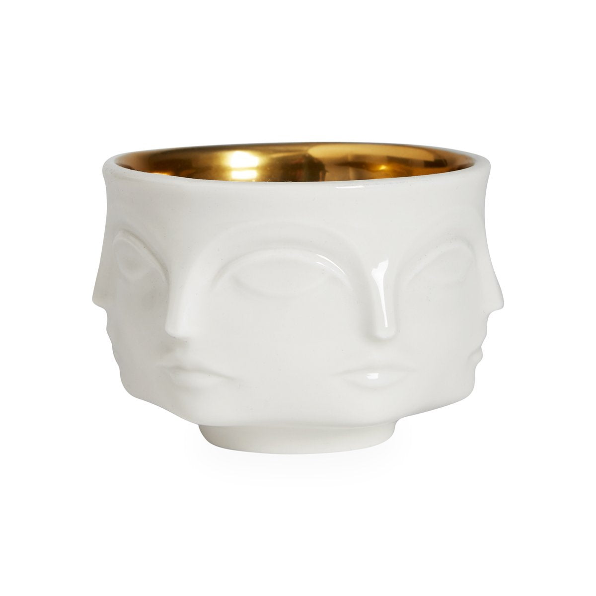 Muse Votive Holder - Gold Interior
