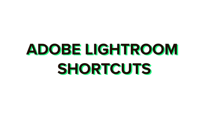 Adobe Lightroom shortcuts 2020 complete list for Windows and Mac + PDF