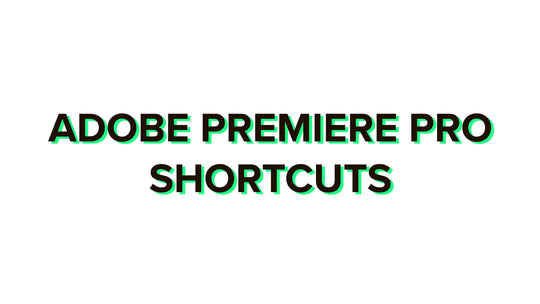 Adobe Premiere Pro shortcuts 2020 complete list for Windows and Mac + PDF