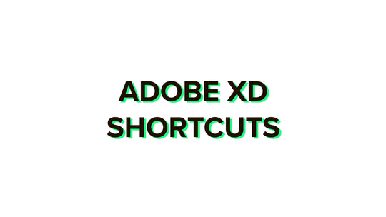 Adobe XD shortcuts 2020 complete list for Windows and Mac + PDF