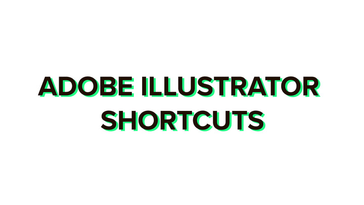 Adobe Illustrator shortcuts 2020 complete list for Windows and Mac + PDF