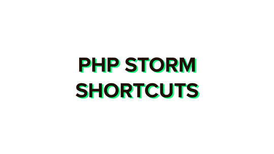 PHP Storm shortcuts 2020 complete list for Windows and Mac + PDF