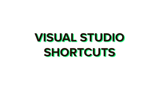 Visual Studio shortcuts 2020 complete list for Windows and Mac + PDF
