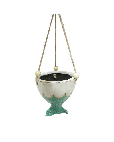 *NEW* Mermaid Tail Hanging Planter