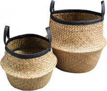 Load image into Gallery viewer, Audrey Woven Belly Planter Baskets **HUGE!!