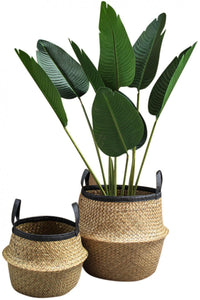 Audrey Woven Belly Planter Baskets **HUGE!!