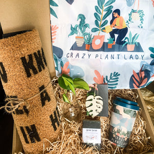 Ultimate Crazy Plant Lady Gift Box, Birthday Gift Box