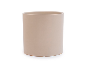 Matte Light Grey Large Planter