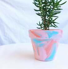 Load image into Gallery viewer, 'You Make Me Blush' Hand-Painted Planters
