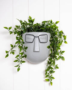 *SALE* Face Smarty Pants Wall Planter
