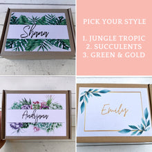 Load image into Gallery viewer, Get Well Soon Care Package, Surgery Gift box, Personalised Plant Gift + PLANTER