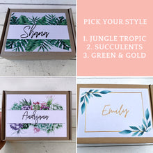 Load image into Gallery viewer, Happy Birthday Succulent gift box, Care Package, Happy Birthday Gift
