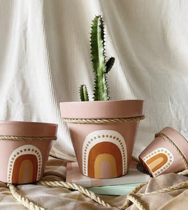 *NEW* Hand-Painted 'Greta' Pot by Project Terracotta