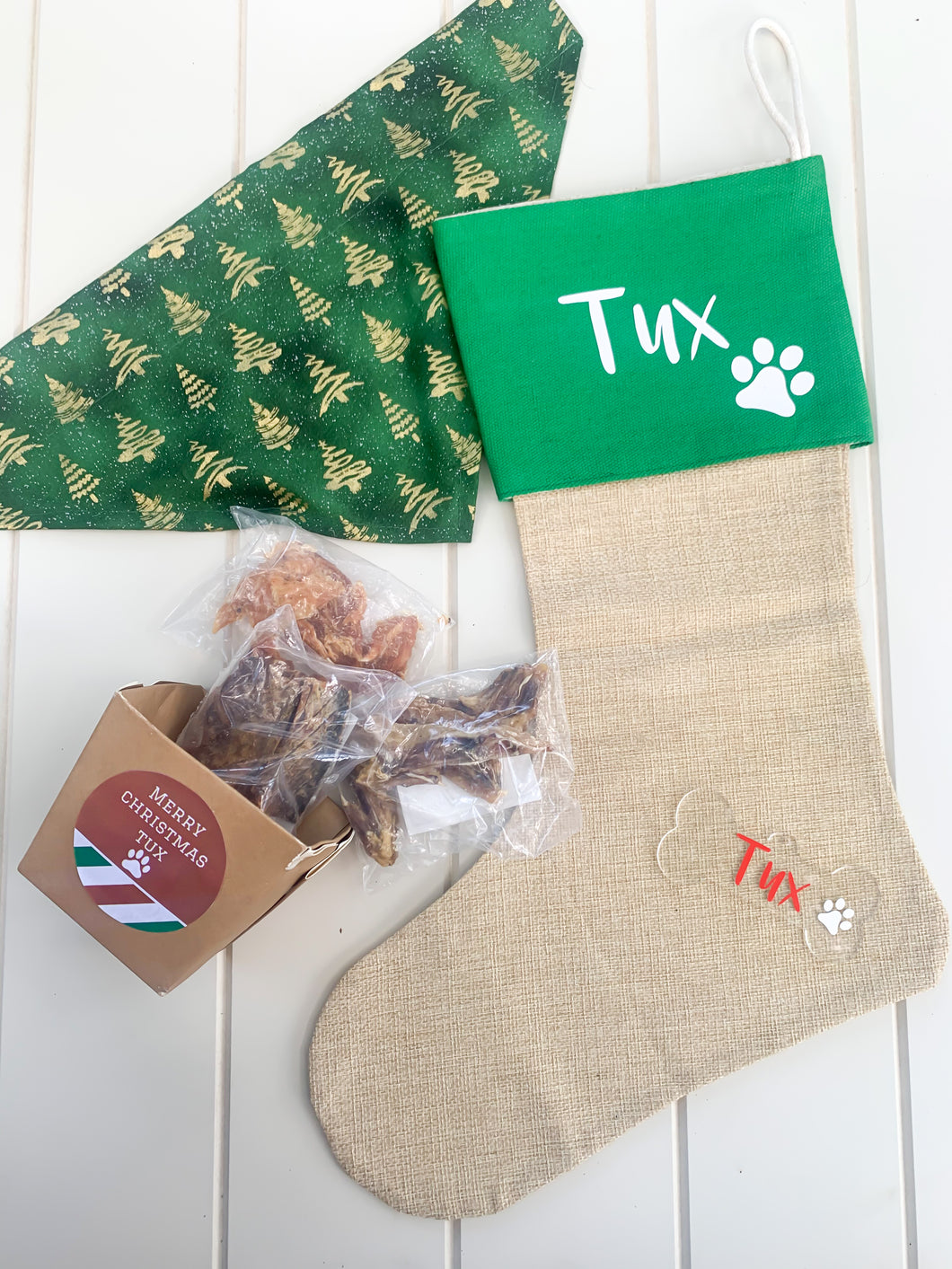 Puppy Christmas Pack, Dog Christmas present