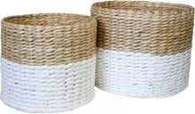 Load image into Gallery viewer, Woven Basket White